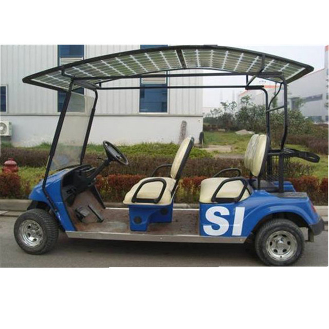 solar car with 360W solar power, four pcs of module 90W and one MPPT on golf cart led lights, golf cart air bag suspension, golf cart awning, golf cart inverter, golf cart phone charger, golf cart lithium battery, golf cart battery charger,