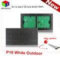 Белый P10 напольный Дисплей Модуль Панели Окно Знак, Знак Магазина 32X16 Матрица водонепроницаемый высокой яркости для прокрутки текст