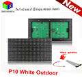 White P10  LED outdoor Display Module Panel Window Sign Shop Sign  32X16 Matrix  waterproof high brightness for scrolling text
