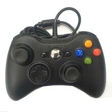 1 個ゲームパッド USB 有線ジョイパッドゲームパッドコントローラマイクロソフトゲームシステム PC Windows 7/8 ない xbox