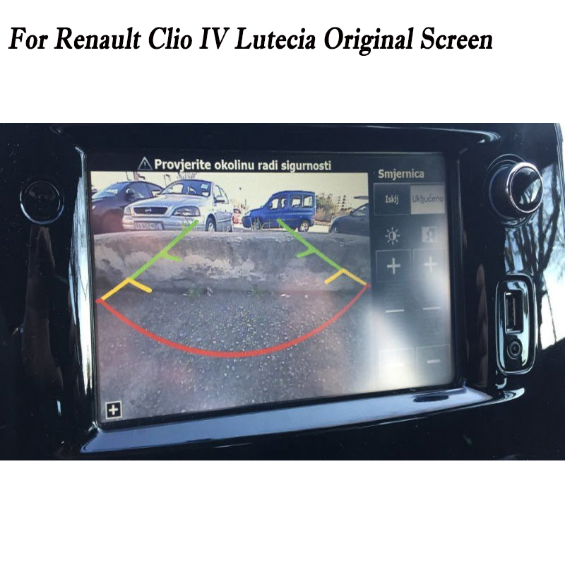 US $14 76 18% OFF Reverse Camera Connection Cable For Renault Clio IV  Lutecia Rear Backup Parking Camera RCA Original Display Compatible-in  Cables,