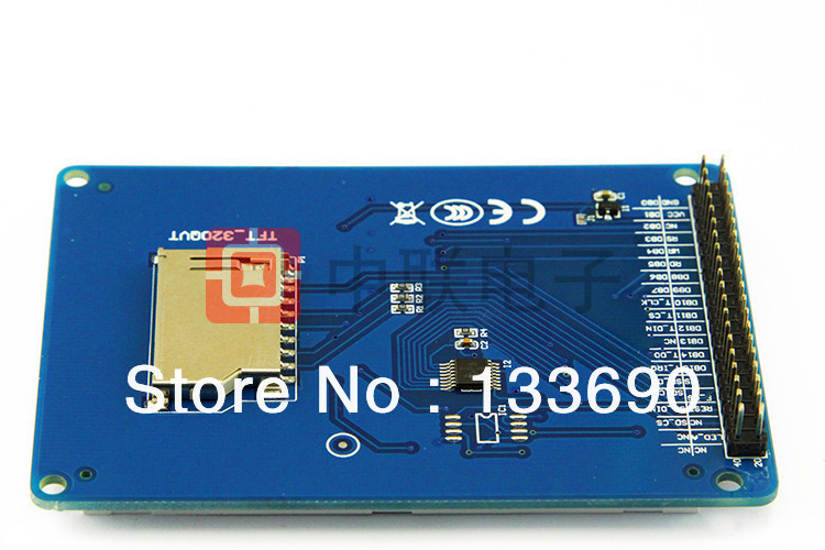 """Image 3 - 3.2"""" TFT LCD Module Display + Touch Screen Panel + PCB Board Blue SSD1289 with SD Card Slot 65K Colors3.2"""" tft lcd moduletft lcd modulelcd module -"""