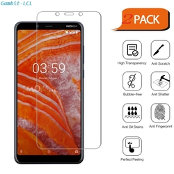 На Алиэкспресс купить стекло для смартфона 2pcs 2.5d 9h premium tempered glass for nokia 3.1 plus 6дюйм. 3.1plus screen protector toughened protective film cover