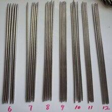 55PCS/SET 24cm stainless steel Straight knitting needles crochet hooks set Size 6-16