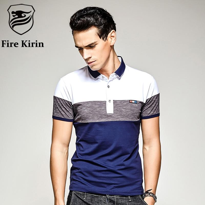 Fire kirin polo shirt men 2017 famous brand slim fit polo for All polo shirt brands