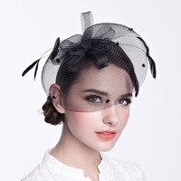 2016 New Lady Fashion Fedoras Hat Women Wide Large Brim Elegant Wool Cap Female British Fisherman