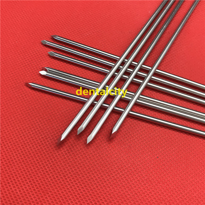 Купить с кэшбэком 10pcs/set Stainless steel Double-ended Kirschner wires Veterinary orthopedics Instruments