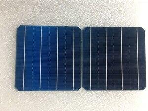 Image 3 - 100ピース4.98ワット0.5ボルト20.4% effciencyグレードa 156*156ミリメートル太陽光モノラル単結晶シリコン太陽電池6 × 6用ソーラーパネル