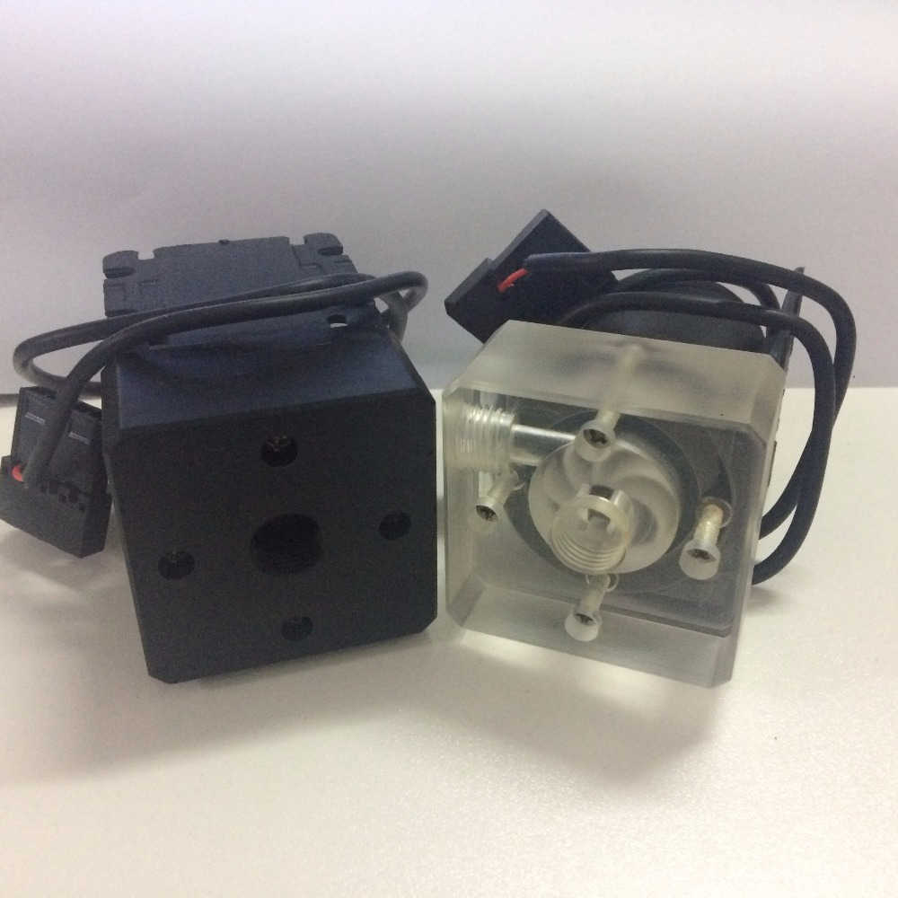 SC600 Computer Water Cooling Water Pump with Top Cover Black Transparent Thread Import and Export
