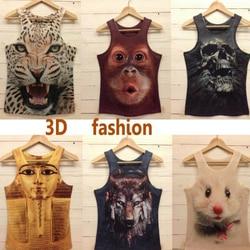 2016 new style men t shirt mens o neck fashion vest 3d cotton t shirt 3d.jpg 250x250