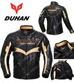 2016 new autumn and winter DUHAN motorcycle jacket PU knight Moto riding clothes silm motorcycle clothing male jackets coat D095