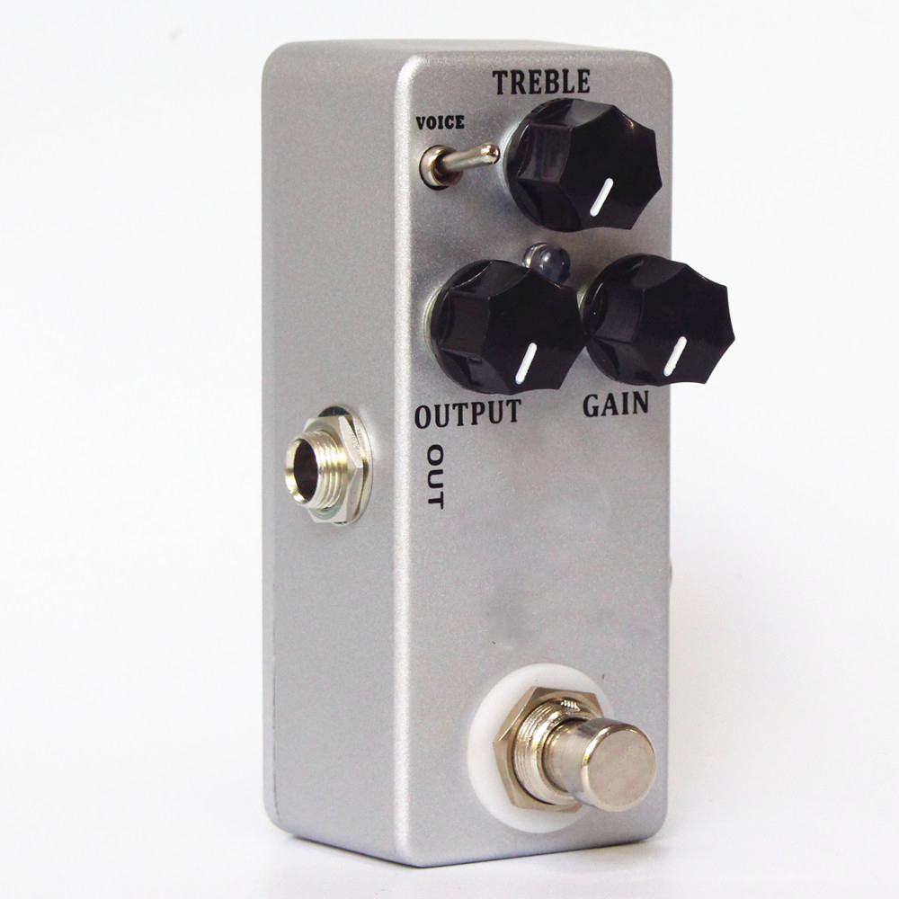 hot sale guitar overdrive boost guitar effect pedal full metal shell guitar parts accessories. Black Bedroom Furniture Sets. Home Design Ideas