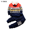 Spring Baby Boys Clothing Sets Two-piece Suit For Boys Gentleman Clothing Costume For Kids Child Set Sport Suit For A Boy