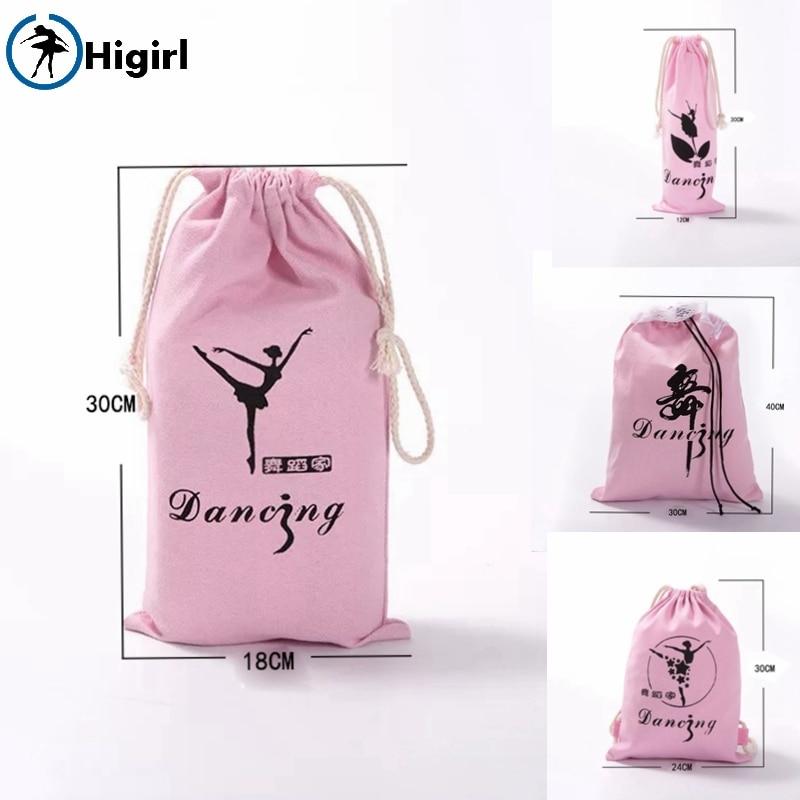 Бесплатная доставка Девушки малышей Розовый Балет Танец Сумочка детская обувь балерины сумки для девочек AS8650