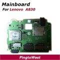 Original utilizado funcionaba bien mainboard placa madre lenovo a830 reemplazo proveedor de partes para lenovo a830 envío gratis
