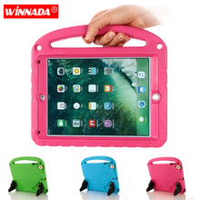 Full Scratch Protection case for ipad 2018 non-toxic EVA Stand Hand Holder kids cover air 2 pro 9.7 2017 inch