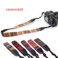 1 unids hippie algodón durable cámara correa del bolso de la vendimia strape para slr accesorios de la cámara réflex digital de canon sony nikon pentax fuji