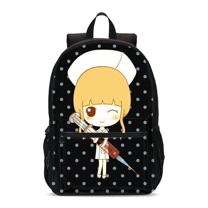 2020 Children School Backpack Teenager Cartoon Girl Prints Laptop Backpacks Fashion School Bags Student Bookbag Mochila Infantil