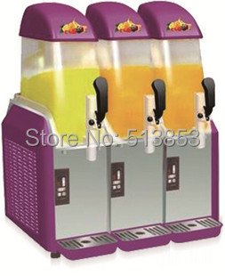 Luxury slush machine cylinder snow melting machine fruit juice machine cold drink machine 3 jar slush machine parts