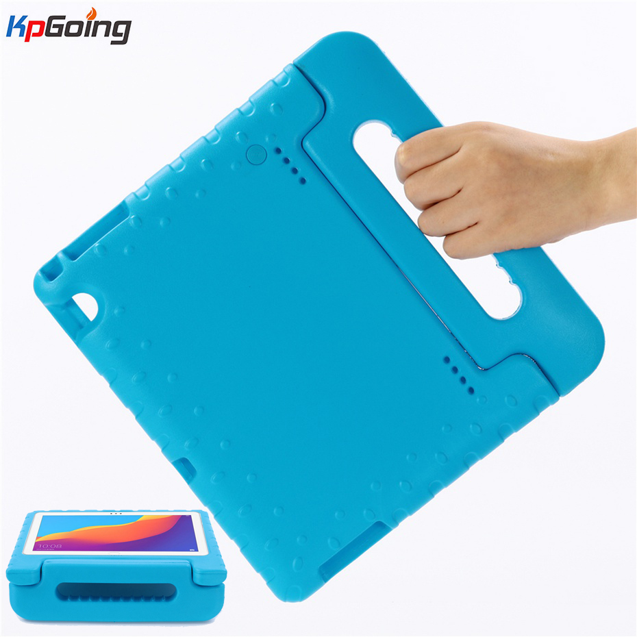 For Huawei Mediapad T5 10 <font><b>Case</b></font> <font><b>Kids</b></font> EVA Shockproof <font><b>10.1</b></font> Inch Hand-held EVA Shockproof Cover for Huawei Honor <font><b>Tablet</b></font> 5 <font><b>Case</b></font> Funda image