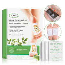 ALIVER 20 stücke für 5 Tage Detox Patches Pads Körper Giftstoffe Füße Abnehmen Reinigung Kräuter Klebstoff