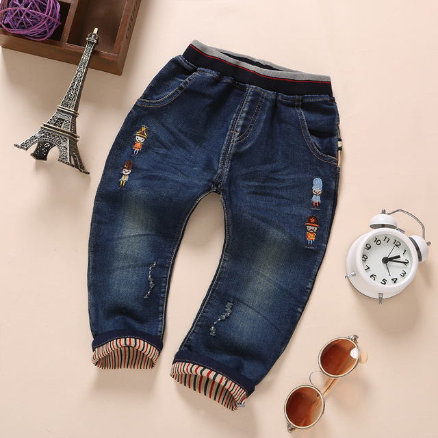 1-4T Bebe Trousers Baby Clothing Boys Girls Jeans Pants Soft Denim  Kids Clothes Toddler Pants Bebe Jeans High Quality