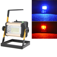 50W 36LED Portable LED Flood Spot Work Light Waterproof IP65 Rechargeable 120 Degree Lamp Camping Lamp