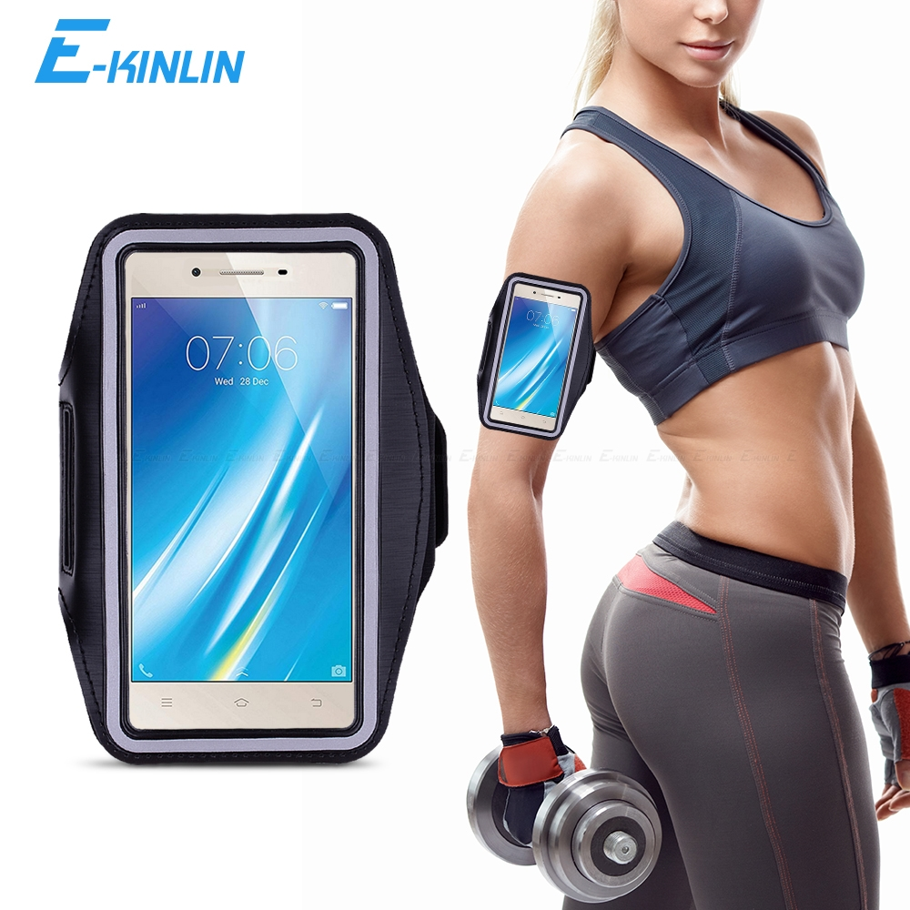 Sport Gym Running Workout Case Pouch Arm Band For BBK vivo Y51 Y53 Y53i Y55s Y55 Y25 Y31 Y33 Y35 Y37 Phone Belt Bag Cover