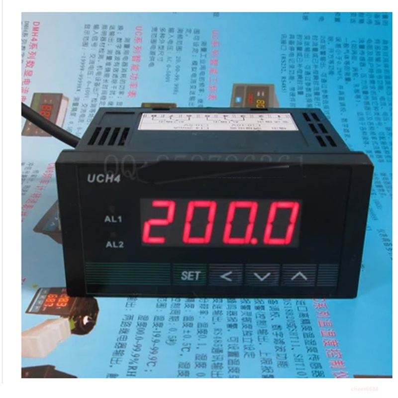 ФОТО Intelligent digital display DC and AC ammeter with 2 relay output alarm transmitter 4-20ma Current acquisition can set alarm