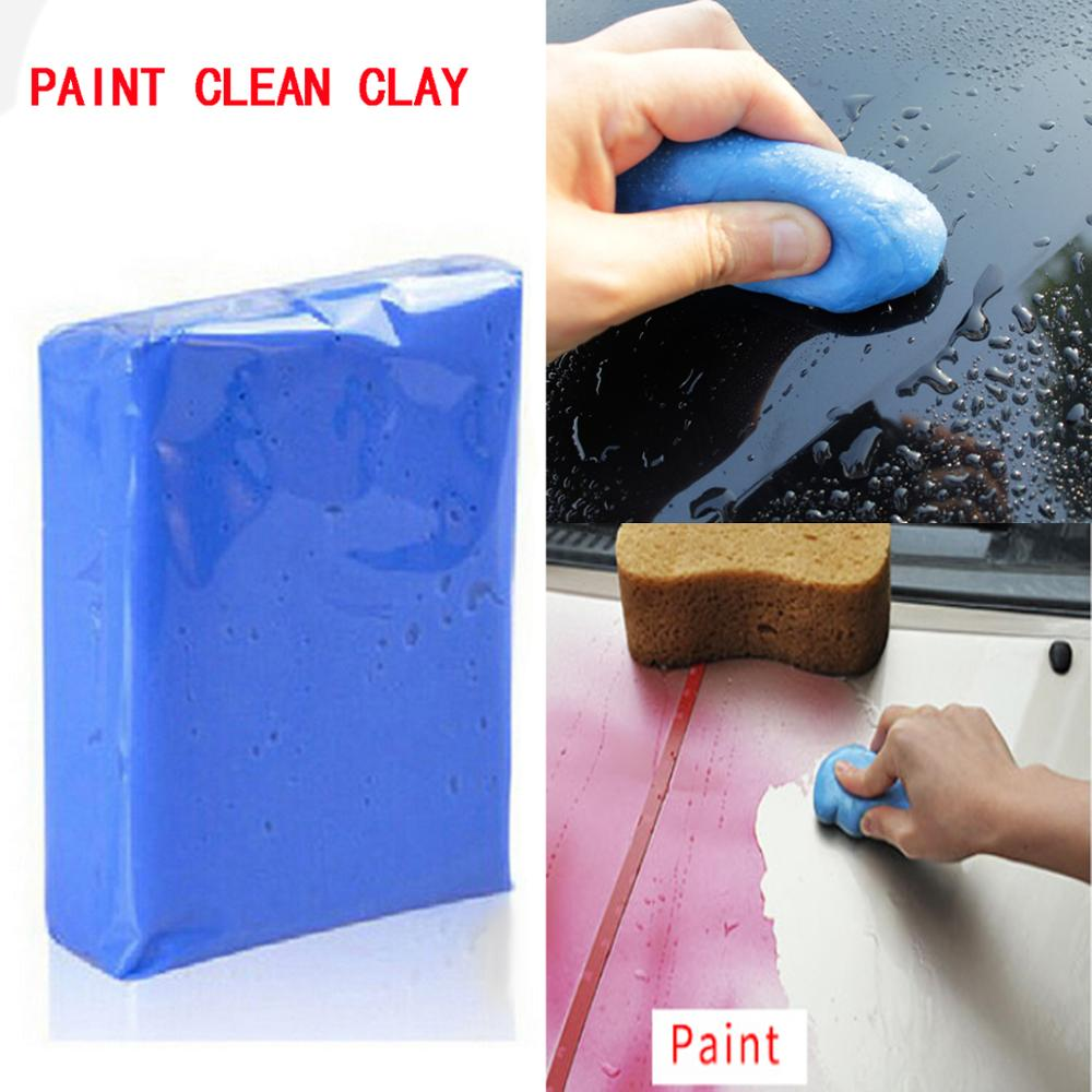 Auto Care Clay Bar Magic Car Truck Clean Detailing Cleaner Car Washer Blue Wash Maintenance Paint Care Tools Sludge Mud Washer