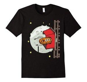 2019 New Summer Tee Shirt Funny Bitcoin Rollercoaster Moon T-Shirt Fashion T-shirt Cool Funny T Shirt Men High Quality Tees(China)