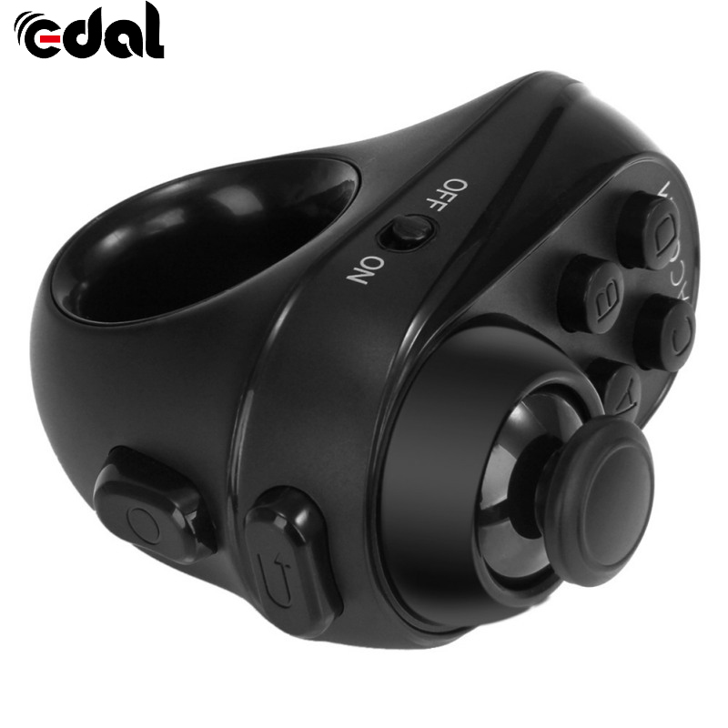 EDAL Mobile Joystick Android Gamepad Controller Bluetooth Wireless VR glasses Remote Control for iPhone Tablet Mouse Self Timer стоимость