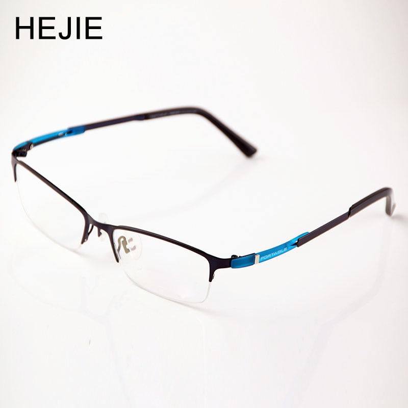 Sınıf Erkek Kadın Asetat ve Metal Gözlük Çerçeveleri Marka - Elbise aksesuarları - Fotoğraf 1
