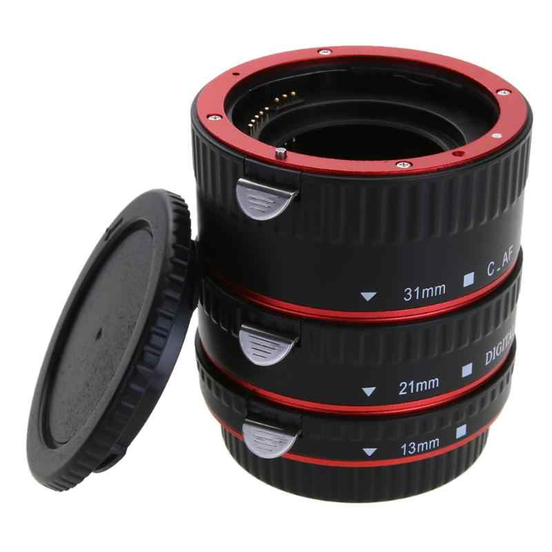 13 mm /& 21 mm /& 31 mm Macro Extension Tube Set Macro Lens Tube Extension para Canon Auto Focus Macro Extension Tube Set para Canon EOS EF Mount