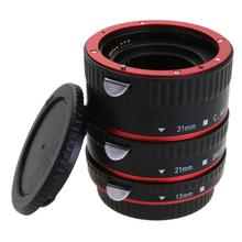 Auto Focus AF Macro Extension Tube/Ring Mount for Canon 5D Mark IV EOS EF-S Lens 760D 750D 700D 80D 7D T6s 6D Lens Adapter