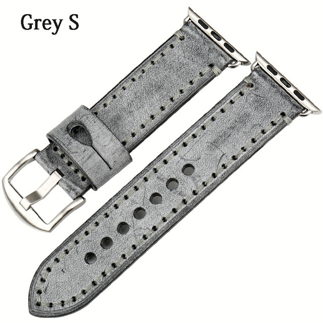 MAIKES Special Leather Watchband Replacement For Apple Watch Band 44mm 40mm / 42mm 38mm Series 4 3 2 All Models Watch Strap | Watchbands