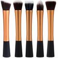 5 PCS Brown Hot High Quality Professional Makeup Brush Set Makeup Brushes Kit For Face Care Free Ship