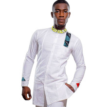 Private custom men fashion tops dashiki male african print shirt trending africa clothing for