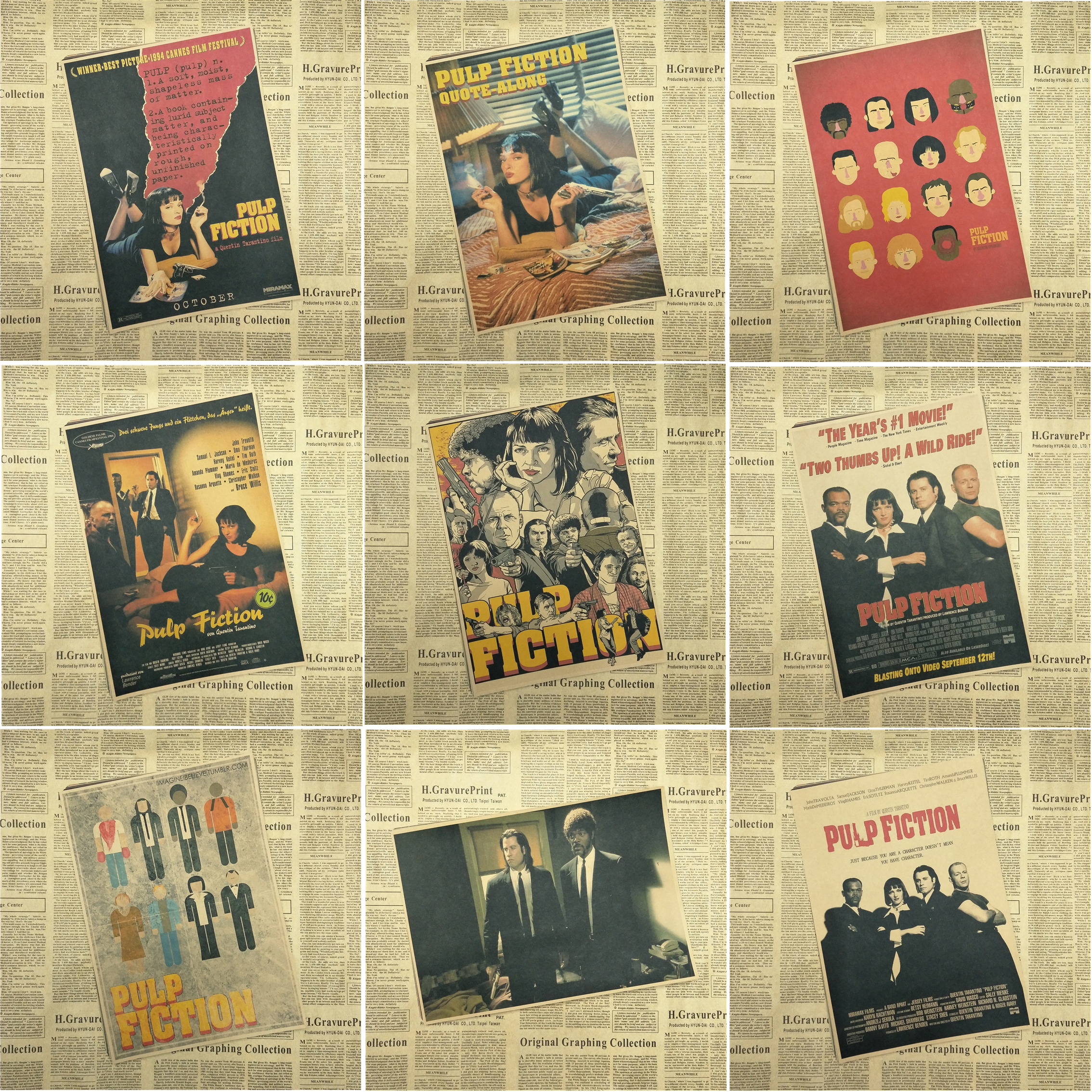 pulp-fiction-posters-vintage-paper-retro-anime-poster-poster-vintage-home-wall-sticker-decor-quentin-font-b-tarantino-b-font-42-30cm