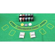 Bargain   60*90cm Blackjack Table Cloth   Black Jack Layouts   Poker Table  Cloth Layout