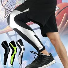 1pcs Basketball Knee Pads Football Kneepads Leg Brace Support Breathable Sleeve Protector Calf Sport Safety Unisex
