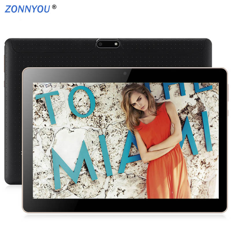 10.1 inch Tablets PC Android 8.1 Octa Core 3G Phone Call 4GB RAM 64GB Dual SIM GPS Bluetooth Wi-Fi Tablet PC+32GBTF Tablet