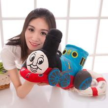 10inch 25cm Blue Tank Train Thomas & Friends Cute Stuffed Plush Toy No Music Doll Baby Girl Boy Birthday Gift 1pcs