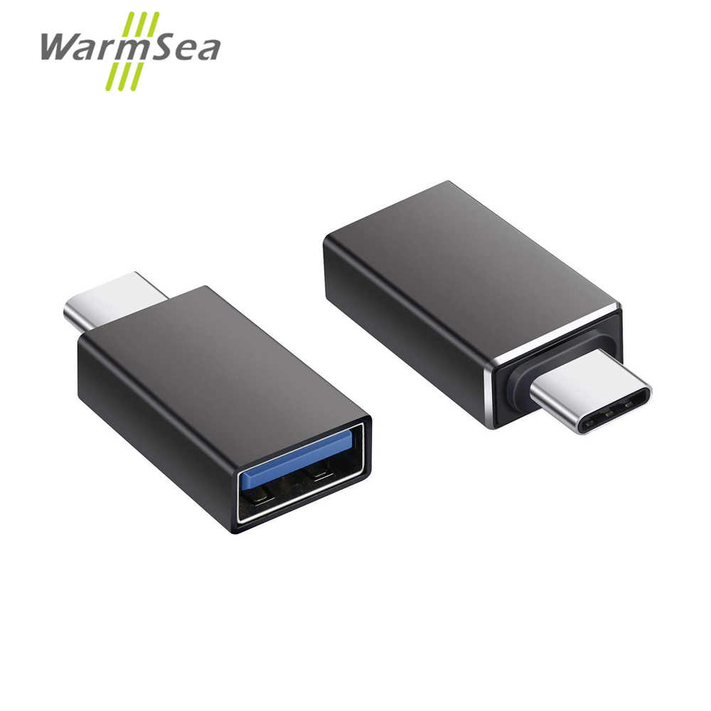 USB C HUB Type C Spliter Adapter Thunderbolt 3 To USB 3.0 OTG Converter Aluminum for MacBook Pro Samsung S9 S10 Google Pixel