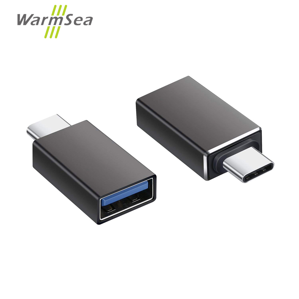 USB Type-C HUB Adapter Thunderbolt 3 To USB 3.0 OTG Converter Aluminum For MacBook Pro 2017 Samsung Note 8 S8 Google Pixel 2 XL