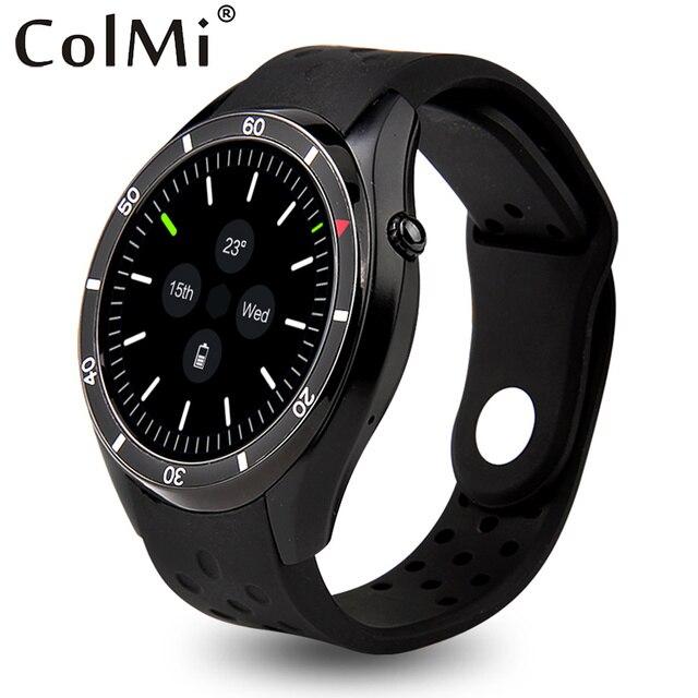 ColMi VS110 Smartwatch Android 5.1 Настоящее Чсс Трекер Часы MTK6580 AMOLED HD 400*400 Разрешение Щебень GPS WIFI Smart Watch