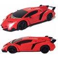 Lo nuevo 1:24 volante sensor de gravedad cars toys 4 canales de radio control remoto rc sports car hot toys para niños (rojo orange)
