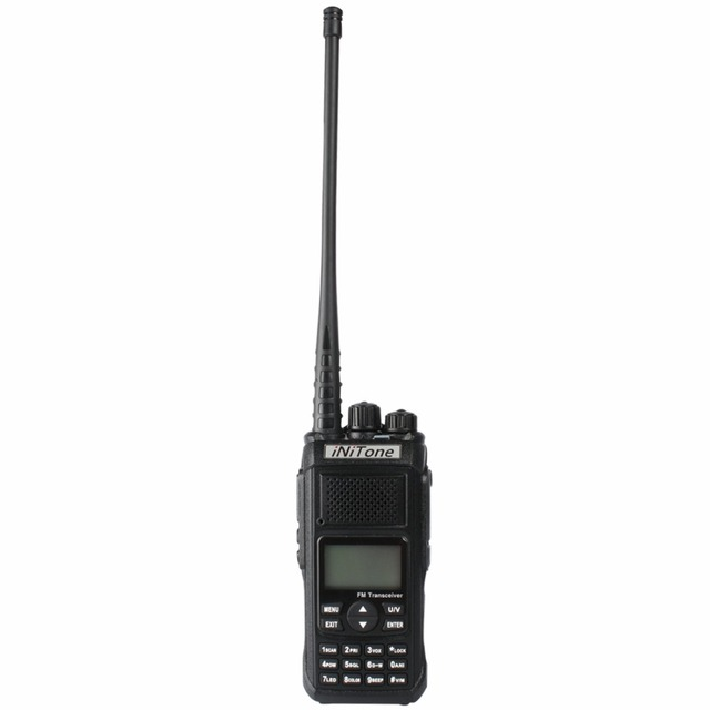 Two way radio iNiTone HT-568 10W Dual Band V-U 136-174MHz/400-470MHz Handheld portable ham Radio FM Transceiver walkie talkie
