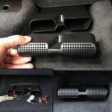 7 stylów dla BMW 1 2 3 4 5 7 serii X1 X3 X4 X5 X7 2011-2021 ABS czarny osłona wylotu powietrza pod siedzeniem akcesoria samochodowe