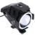 2 unids Motocicleta Faros LED Luz de Niebla Con Interruptor DEL CREE LLEVÓ la Viruta U7 125 W 3000LM Devil Angel Ojo DRL Daytime Running Light Spot